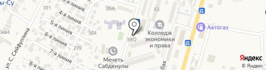 Салон сотовых телефонов на карте Отегена Батыра