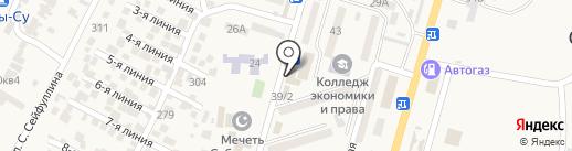 Торгово-сервисная компания на карте Отегена Батыра