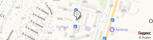 Finbox, ТОО на карте Отегена Батыра