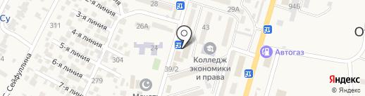 Диагностический центр доктора Кожахметова А.У. на карте Отегена Батыра
