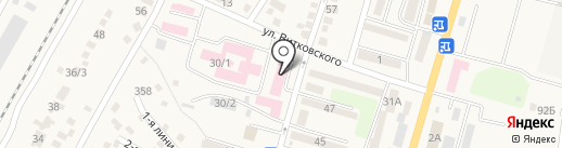 Илийская центральная районная больница на карте Отегена Батыра