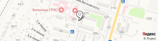 Бану на карте Отегена Батыра