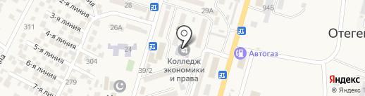 Кубик КЛАБ на карте Отегена Батыра