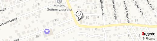 Таусамалы на карте Бесагаш