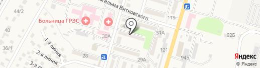 Береке, продовольственный магазин на карте Отегена Батыра
