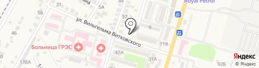TAKO SUSHI на карте Отегена Батыра
