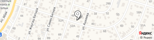Райымбек на карте Отегена Батыра