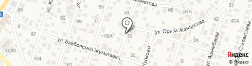 Мадина на карте Отегена Батыра