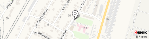 Илийский на карте Отегена Батыра