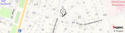 ASSEM на карте Отегена Батыра
