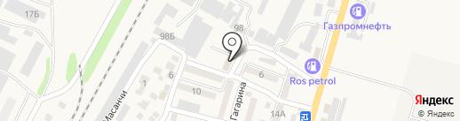 Техосмотр.kz на карте Отегена Батыра