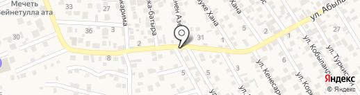 Жанылхан на карте Бесагаш