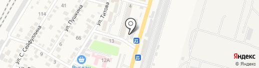 Жибек Жолы на карте Отегена Батыра