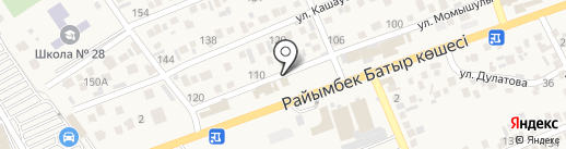 ASAR Clinic, ТОО на карте Бесагаш