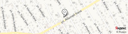 Албан на карте Бесагаш