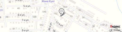 Медицинский пункт на карте Отегена Батыра