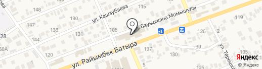 7-я на карте Бесагаш