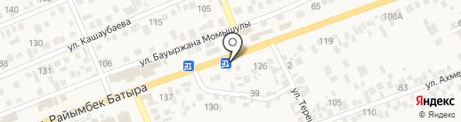 Нурила на карте Бесагаш