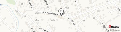 Удача, продовольственный магазин на карте Гульдалы