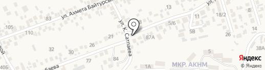 Продовольственный магазин на карте Бесагаш