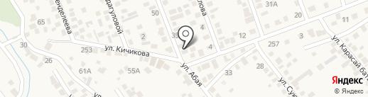 Санжар, продовольственный магазин на карте Гульдалы