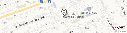 Куралай на карте Бесагаш
