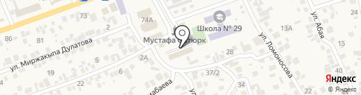 Алматинский экономическо-правовой и педагогический колледж на карте Бесагаш