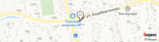 Туздыбастау на карте Туздыбастау