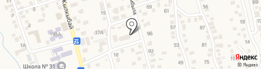 Врачебная амбулатория, пос. Туздыбастау на карте Туздыбастау