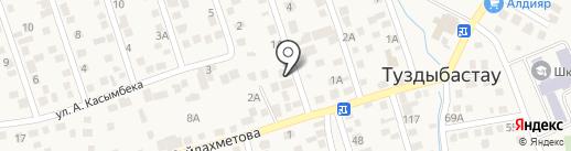 Нур-Ай на карте Туздыбастау