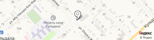 Кызыл гуль, сервисная компания на карте Гульдалы