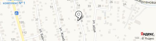 Сара на карте Туздыбастау