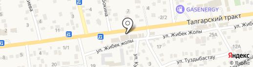 Рустам на карте Туздыбастау