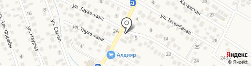Инжу на карте Туздыбастау