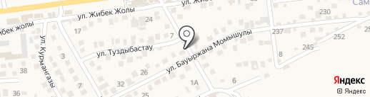 Муса на карте Туздыбастау