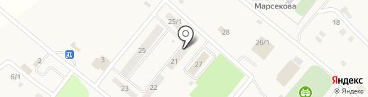 Управление статистики Уланского района на карте Касымы Кайсеновой