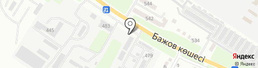 Агро-Рем-Строй, ТОО на карте Усть-Каменогорска