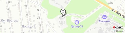 Дом Леса на карте Усть-Каменогорска