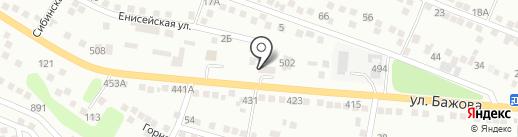 Автопилот на карте Усть-Каменогорска