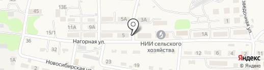 Продовольственный магазин на карте Опытного поля
