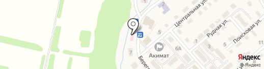 Опытнопольская врачебная амбулатория на карте Опытного поля