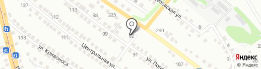 Tiande на карте Усть-Каменогорска