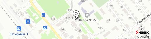 Рано на карте Усть-Каменогорска