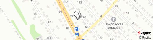 Автосервис на карте Усть-Каменогорска