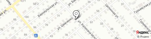 СТО на карте Усть-Каменогорска