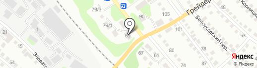 КАССА 24 на карте Усть-Каменогорска