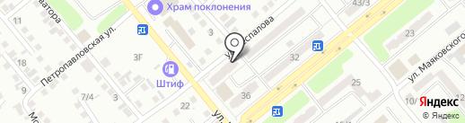 Print-Service UK на карте Усть-Каменогорска