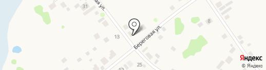 Деревенская лавка на карте Алексеевки