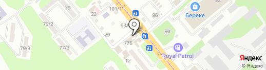 MES Engineering Service, ТОО на карте Усть-Каменогорска