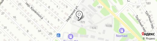 Успех на карте Усть-Каменогорска